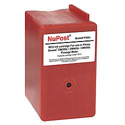 NuPost NPT300C Pitney Bowes 765 9 Remanufactured Red Ink Cartridge