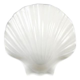 Restaurant Essentials Shell 12 oz., 6 3/4 in. x 6 3/4 in. Soup Bowl (1 Piece) 849851028173