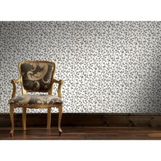 Graham & Brown 56 sq. ft. Boho Black and White Wallpaper 20 606