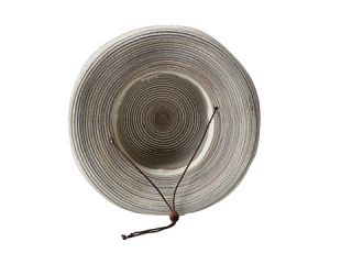 San Diego Hat Company MXM1014 Mixed Braid Kettle Brim Hat Tan