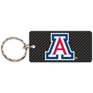 Arizona Wildcats Carbon Printed Acrylic Team Color Logo Keychain