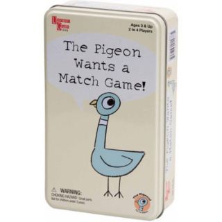 The Pigeon Wants a Match Game in a Tin