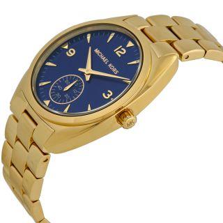 Michael Kors Callie Champagne Dial Gold tone Unisex Watch MK3345 img2