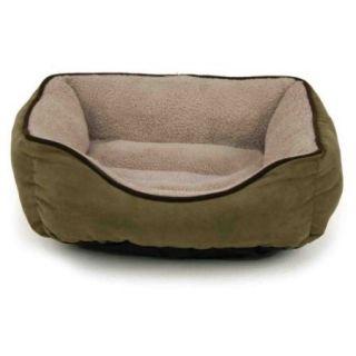 Brinkmann Faux Suede Box Pet Bed