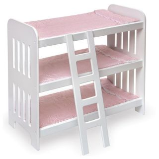 Badger Basket Triple Doll Bunk Bed Set   14084666