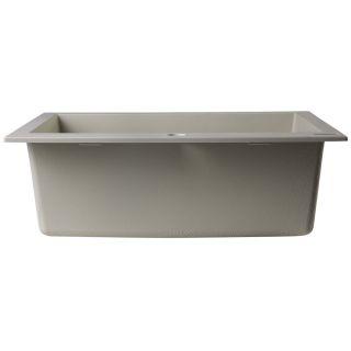 Alfi Brand 23.63 x 20.88 Drop In Single Bowl Kitchen Sink