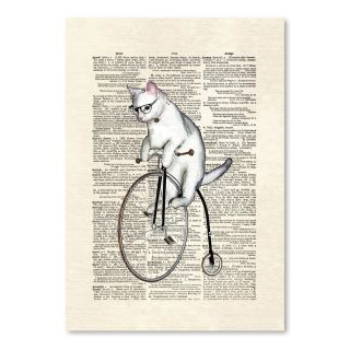 Atticus Graphic Art on Wrapped Canvas by Americanflat