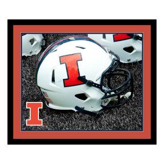 NCAA Helmet Framed Photographic Print by ReplayPhotos
