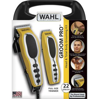 Wahl Groom Pro Sport 22 piece Head and Body Grooming Kit
