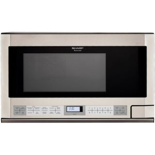 Sharp 1.5 Cu. Ft. 1100W Over the Counter Microwave