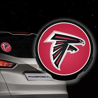 Officially Licensed NFL Car Window Power Decal   Cowboys   Falcons   8219297