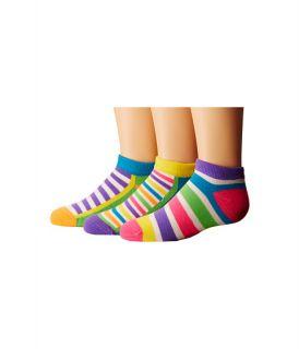 Jefferies Socks Dots Stripes Low Cut 6 Pack Toddler Little Kid Big Kid Neon