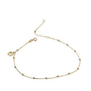 Michael Anthony Jewelry® 10K Yellow Gold Anklet with Virgin Mary Charm   8151398