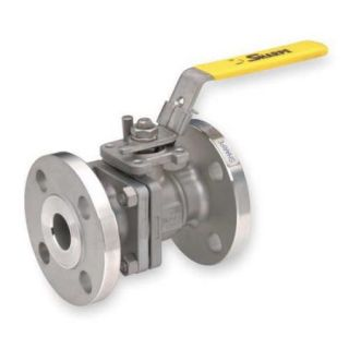 Value Brand 2 Piece Ball Valve, 316 Stainless Steel, ASTM A351, SV50116M006