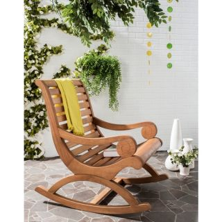 Safavieh Outdoor Living Sonora Brown Rocking Chair   17413700