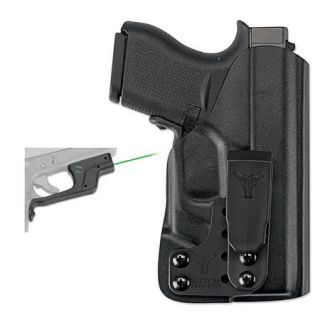 Crimson Trace LG 443G Green Sight Laserguard w/Blade Tech Holster for Glock 43 LG 443G HBT