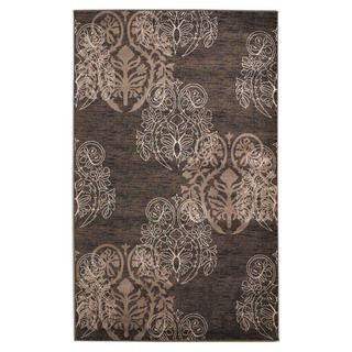 Oh! Home Milan Collection Brown/ Beige Area Rug (110 x 210