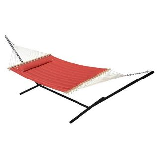 Smart Living Monte Carlo Premium Poly Hammock   Red