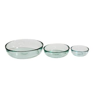 San Miguel Recycled Glass Bowls   Set of 3