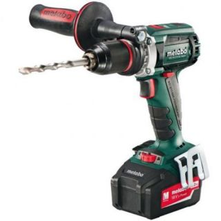 Metabo 602241520 18V 5.2 Ah Cordless Lithium Ion Brushless 1/2 in. Drill Driver Kit