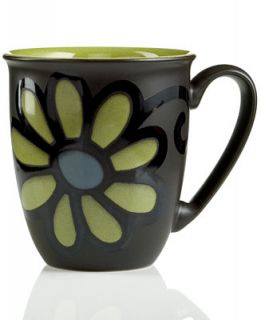 Denby Dinnerware, Jet Zinnia Coffee Beaker Mug   Dinnerware   Dining
