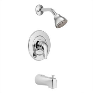 Chateau Tub and Shower Faucet Trim with Lever Handle