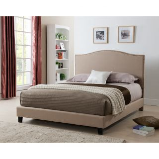 Living In Style Brittany Upholstered Panel Bed