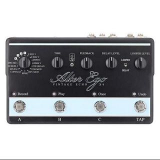 TC Electronic Alter Ego X4 Vintage Echo Guitar Effect Pedal
