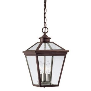 Savoy House 5 146 13 Ellijay 3 Light Hanging Lantern in English Bronze