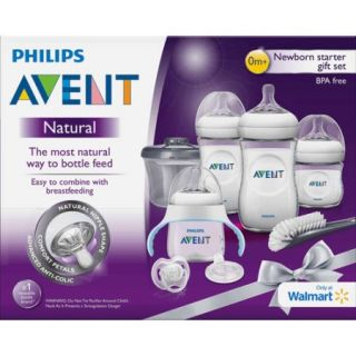 Philips Avent Natural Gift Set, Wal Mart Exclusive, BPA Free
