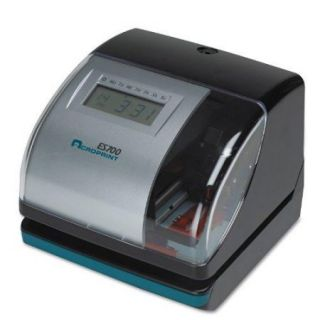Acroprint Es700 Multi function Side Printing Time Recorder   Card Punch/stamp (ACP010182000)