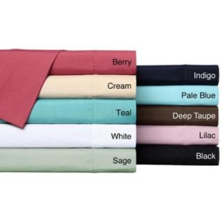 Classic Percale Oversize Sheet Set Queen   Teal