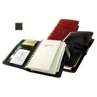 Raika VI 207 BROWN Pocket Planner   Brown