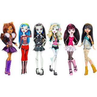 Monster High Original Dolls, 6 Pack