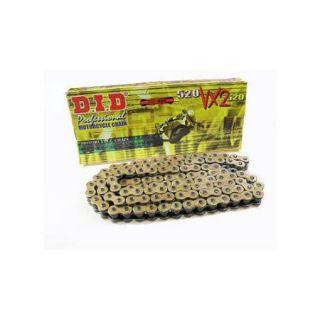 D.I.D 520VX2 X Ring Chain 116 Link Gold/Black