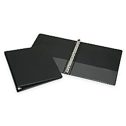 30percent Recycled 3 Ring Binder 1 Rings Black AbilityOne 7510 01 278 4131