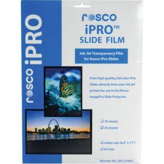 Rosco iPro Slide Film Letter Size (25 Sheet Pack) 265279950025
