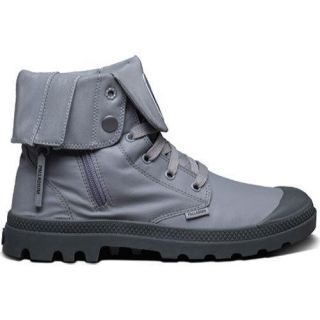 Palladium Baggy Zip Canvas Boot Titanium/Reflective   18703799