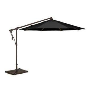 Swim Time Trinidad 10 ft. Cantilever Patio Umbrella in Black DISCONTINUED NU5400BK