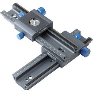Novoflex CROSS MC Double Rail Focusing Rack Kit CASTEL CROSS MC