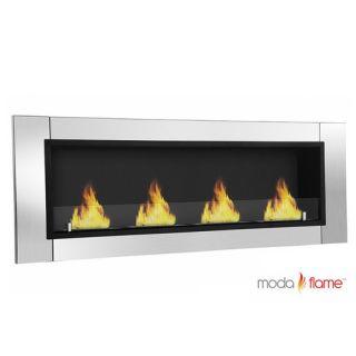 Moda Flame Wraith Ventless Bio Ethanol Wall Mounted Fireplace