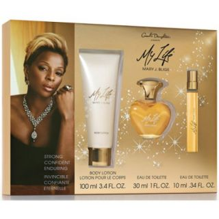 Mary J Blige My Life Gift Set for Women, 3 pc