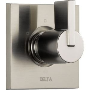 Delta Faucet T11853 SS Vero Brilliance Stainless  Wall Mount One Handle Diverter / Transfer Valve