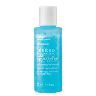 Bliss Fabulous Foaming 2 ounce Face Wash   16743166