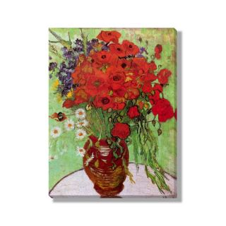 Classics Still Life   Red Poppies and Daisies by Vincent Van Gogh