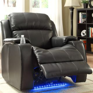 Woodbridge Home Designs Jimmy Power with Massage, LED and Cup Holder