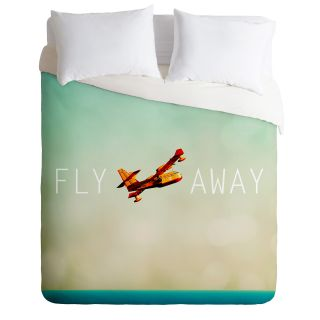DENY Designs Happee Monkee Fly Away Duvet Cover Collection