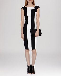 KAREN MILLEN Dress   Vertical Striped