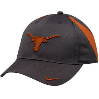 Nike Texas Longhorns Youth Charcoal Training Camp Adjustable Hat