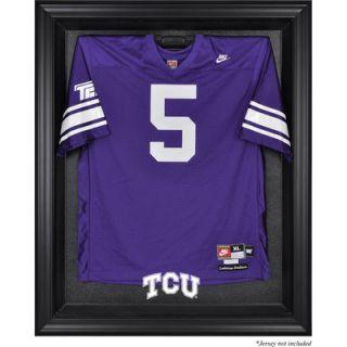 TCU Horned Frogs  Authentic Black Framed Logo Jersey Display Case